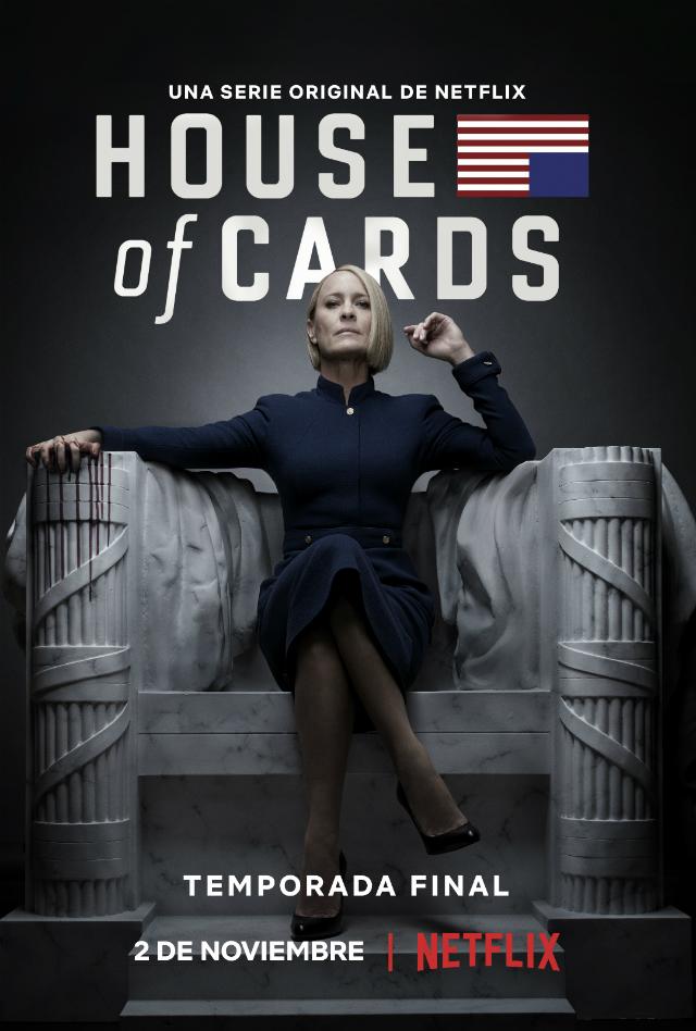 La última temporada de House of Cards ya tiene fecha de estreno