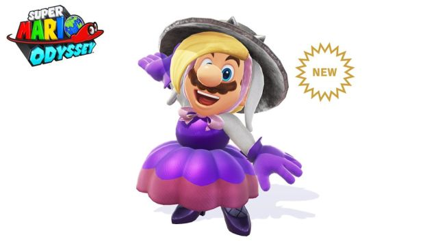 Mario vestido como Harriet