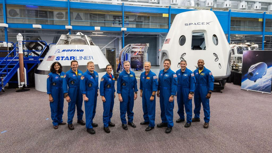 NASA anuncia astronautas
