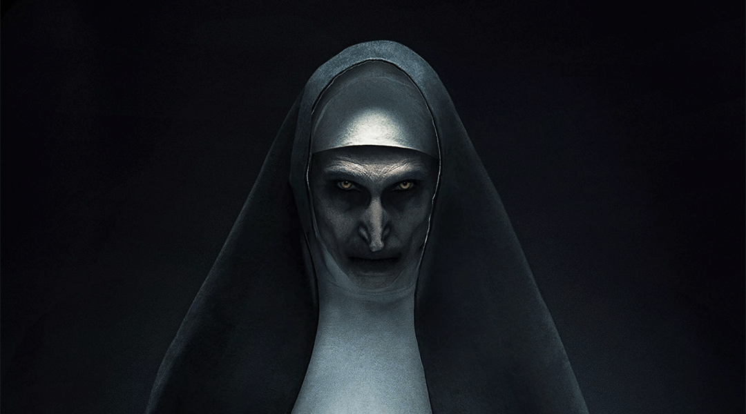 Póster oficial de The Nun, película de Warner