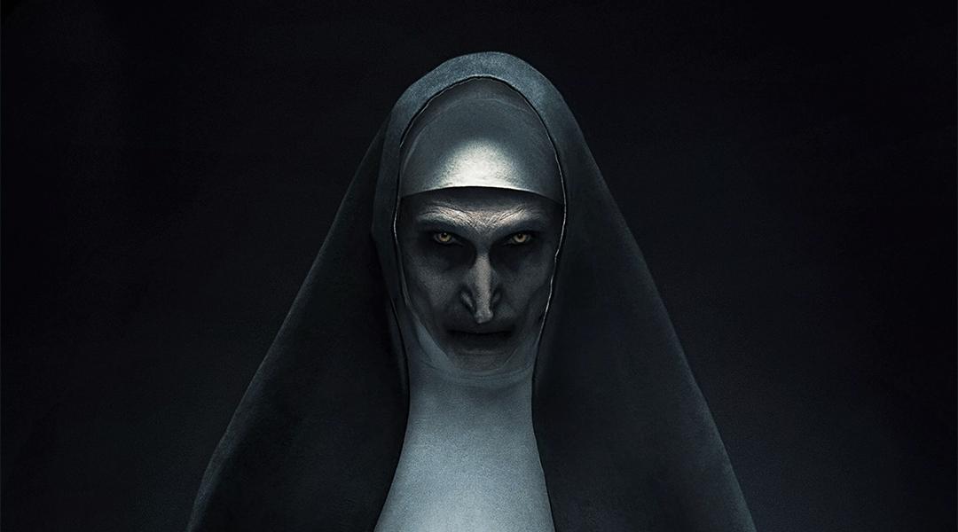 Póster oficial de The Nun, película de Warner