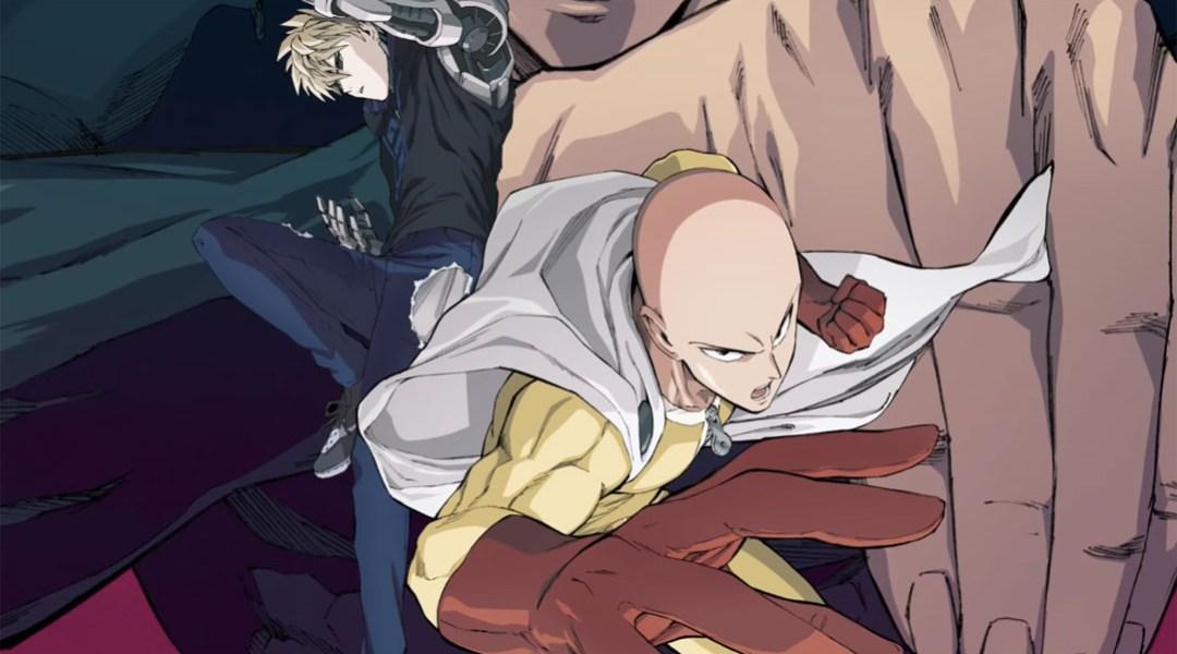 Póster oficial de One Punch Man