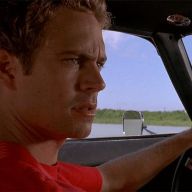 El actor fallecido Paul Walker en una escena
