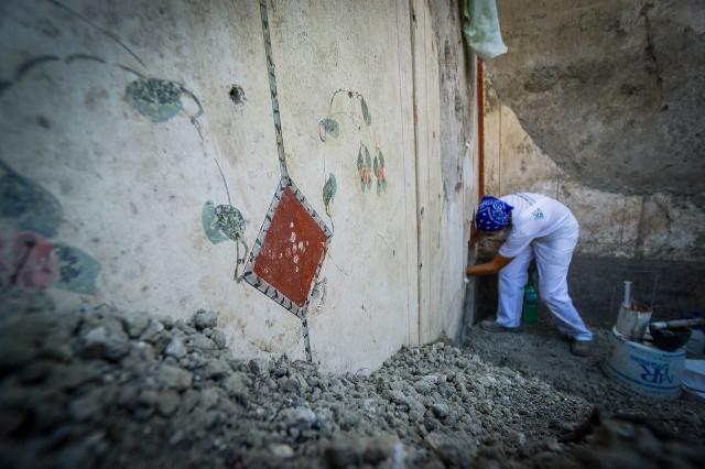 Estancia decorada Foto: Cesare Abbate / Parco Archeologico di Pompei