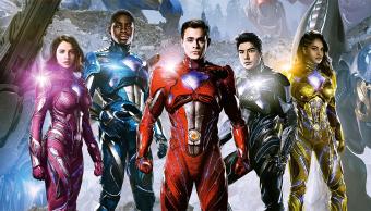 Una imagen oficial de la película Power Rangers