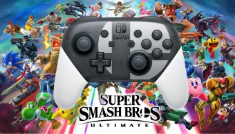 Pro Controller de Switch especial de Super Smash Bros. Ultimate