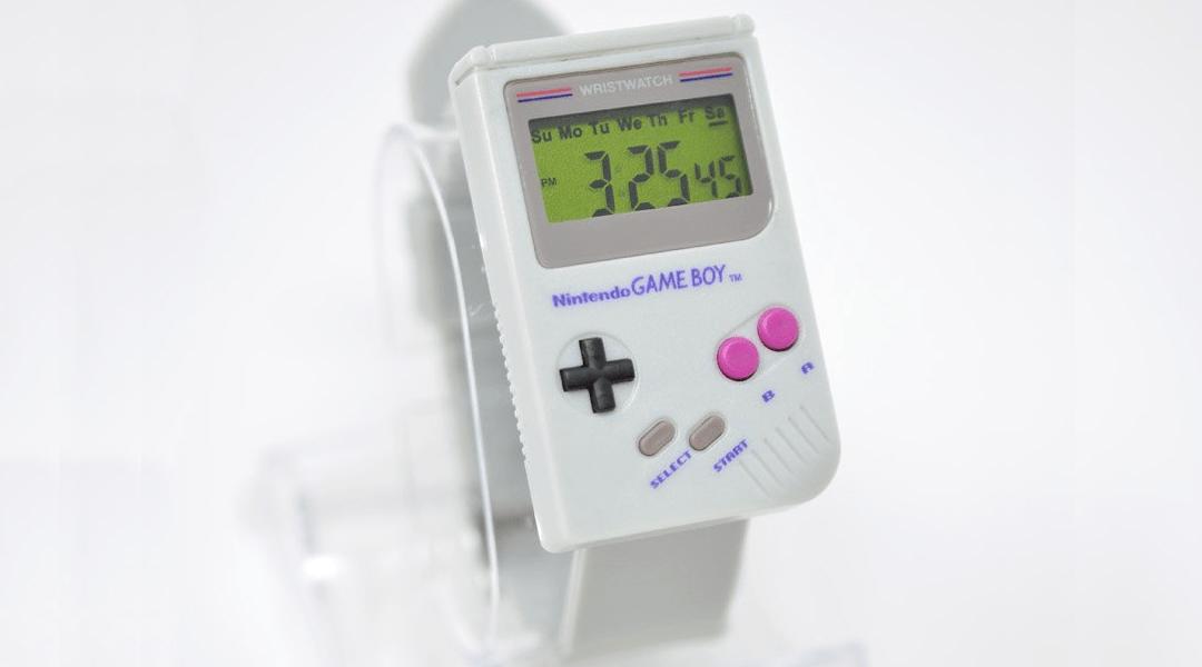 Un curioso reloj inspirado en el Game Boy clásico