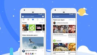 imagen promocional de Facebook Watch app