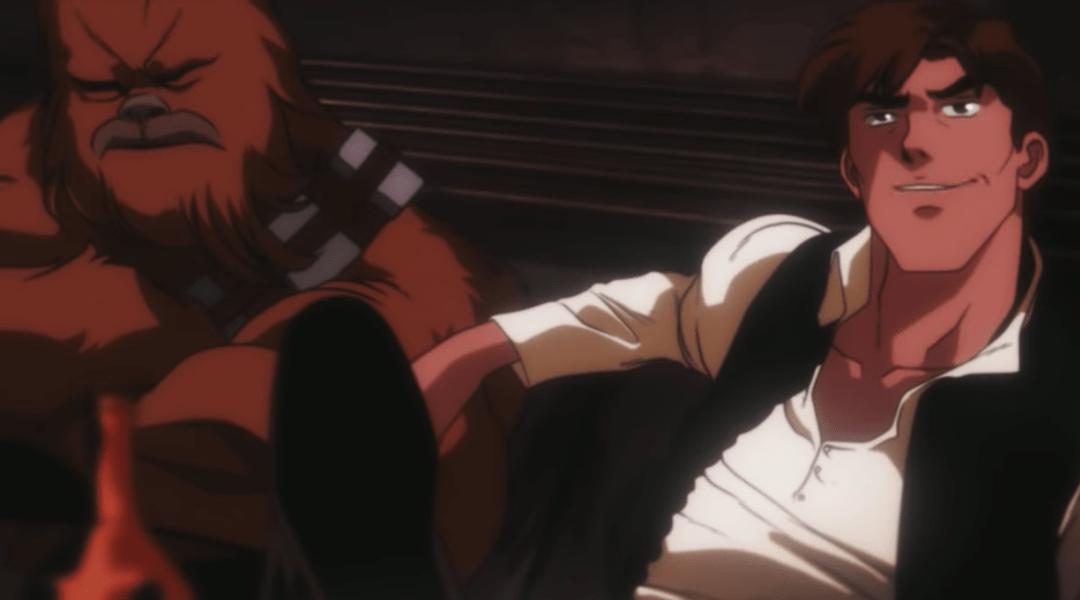 Star Wars en versión anime en un fanfilm