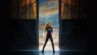 Capitana Marvel Póster