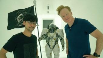 Conan O'Brien le pide trabajo a Hideo Kojima
