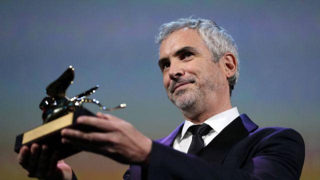 Alfonso Cuarón gana el León de Venecia por Roma