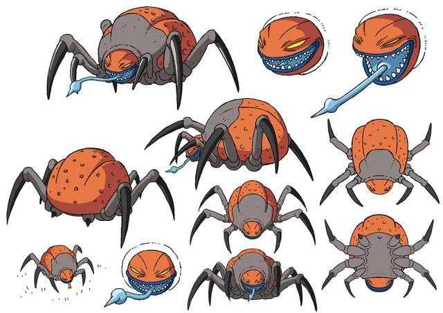 Insecto sin nombre que aparecerá en Dragon Ball Super: Broly (Toei Animation)