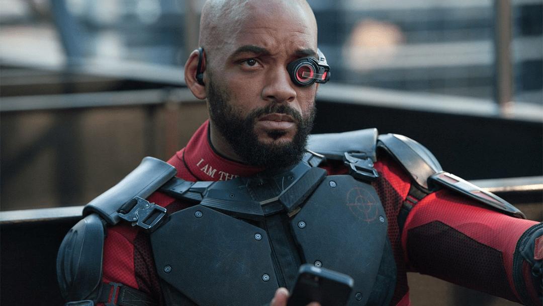 Will Smith caractertísado como Deadshot en Suicide Squad