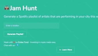 Sitio genera playlist con artistas que estarán en tu ciudad