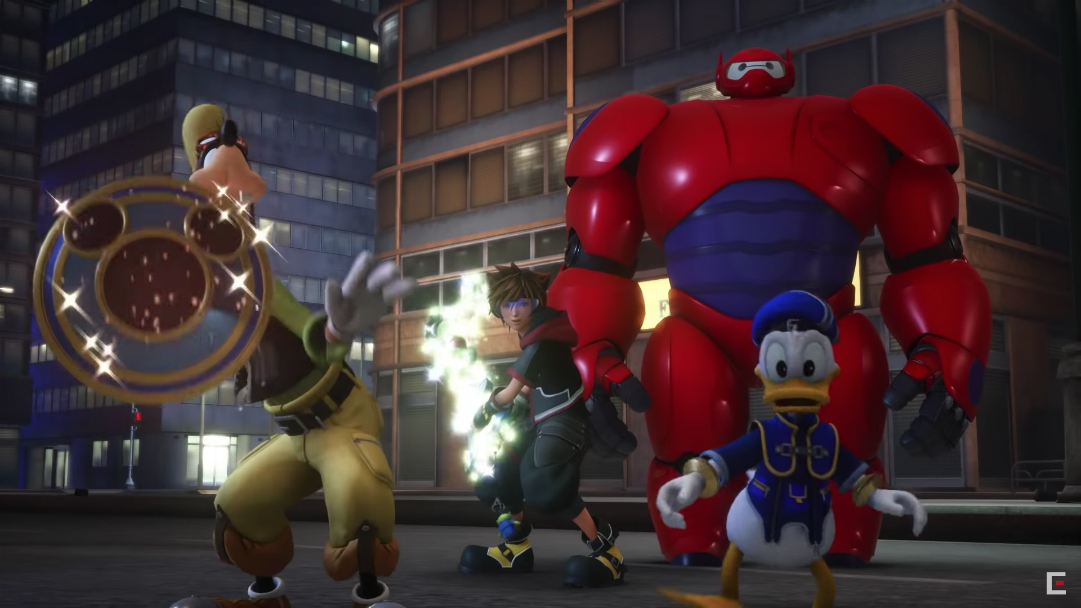 Nuevo tráiler de Kingdom Hearts 3 presenta a Baymax