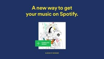Spotify ahora te permite subir tus propias canciones