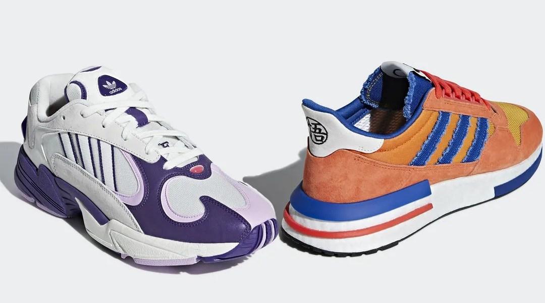 Tenis adidas de Dragon Ball z de Goku