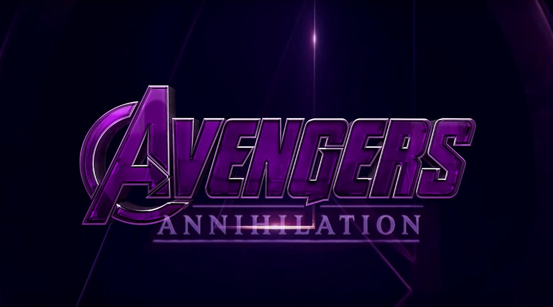 El supuesto logo de Avengers 4
