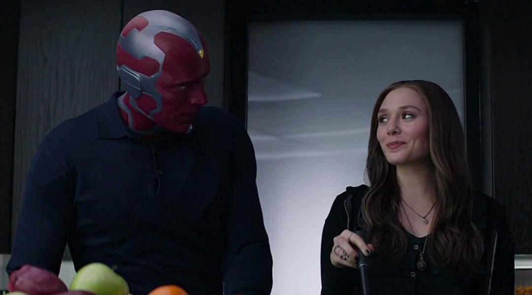 Vision y Scarlet Witch, personajes de Avengers