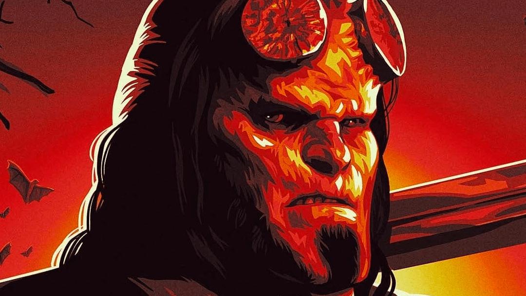Fragmento del póster oficial de Hellboy