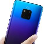 Huawei Mate 20 con cuatro cámaras