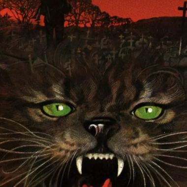Portada del libro Pet Semantary de Stephen King