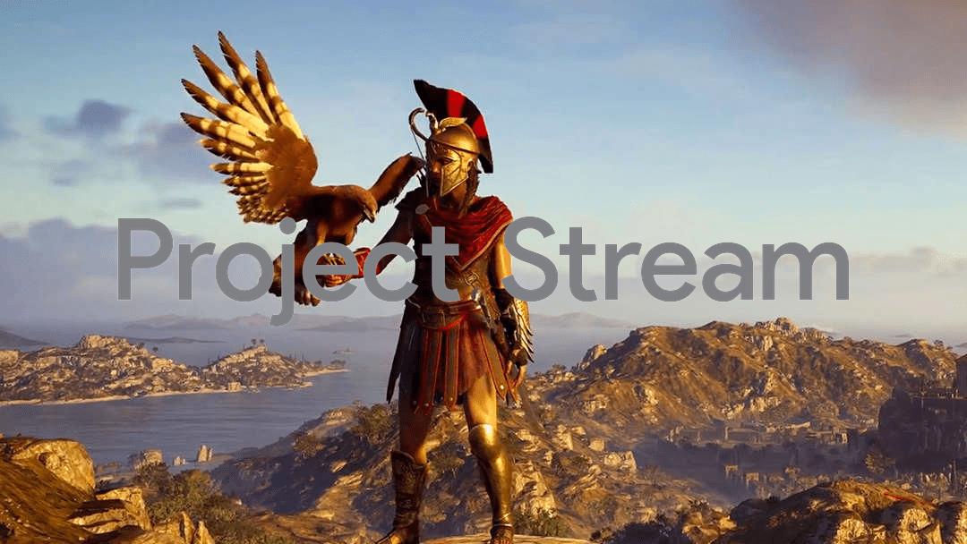 Imagen de Assassin's Creed Odyssey primer juego de Project Stream