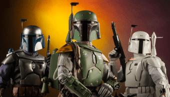 figuras de acción de Boba Fett y Jango Fett de Star Wars