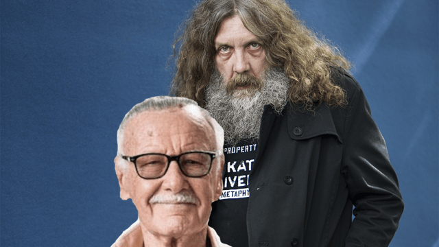 Alan Moore y Stan Lee juntos