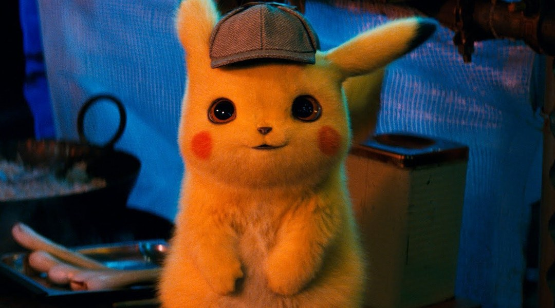Imagen promocional de la película Detective Pikachu