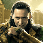 Tom Hiddleston interpretando a Loki en Marvel
