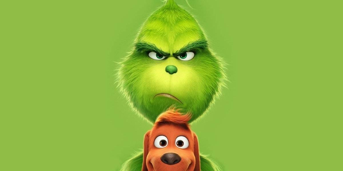 Imagen promocional de The Grinch y Max