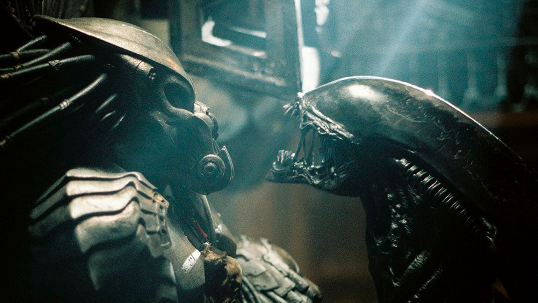 El alien contra el depredador juntos