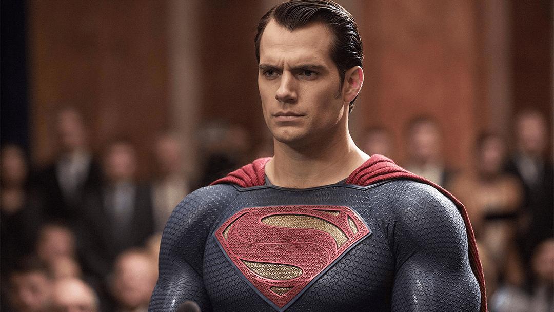 Henry Cavill como Superman en Man of Steel