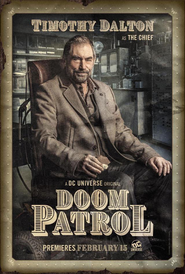 Dr. Niles Caulder (Timothy Dalton)