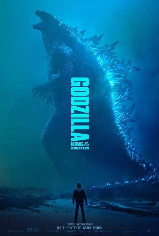 Nuevo póster de Godzilla 2: King of the Monsters