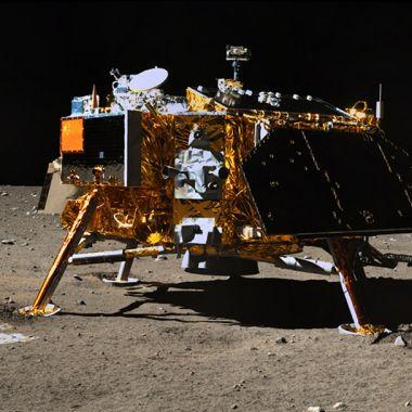 Chang'4, Sonda, Rover, Luna