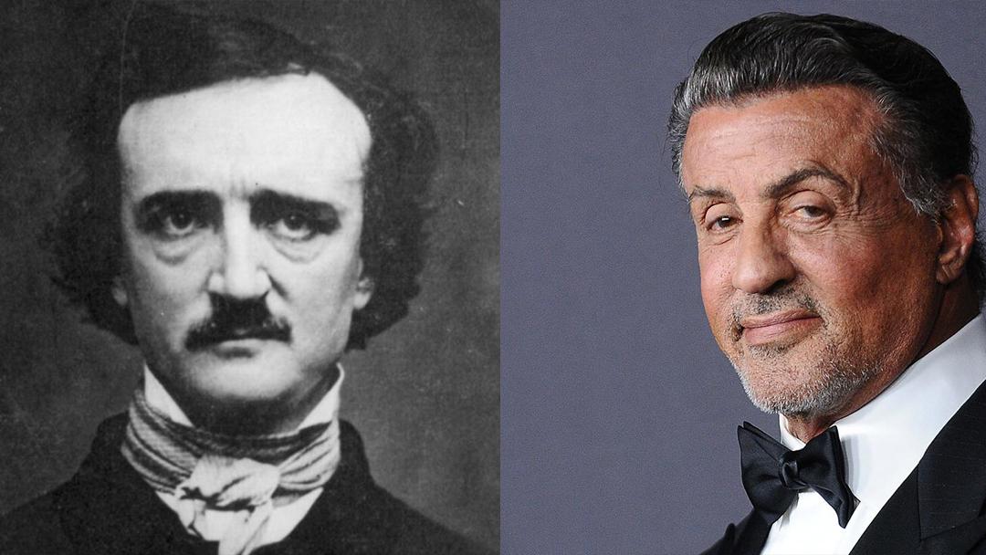 Edgar Allan Poe, Sylvester Stallone, Guion, Película