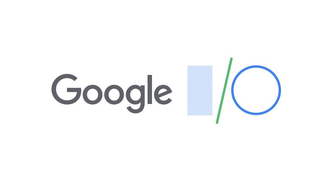 El logo oficial de Google I/O