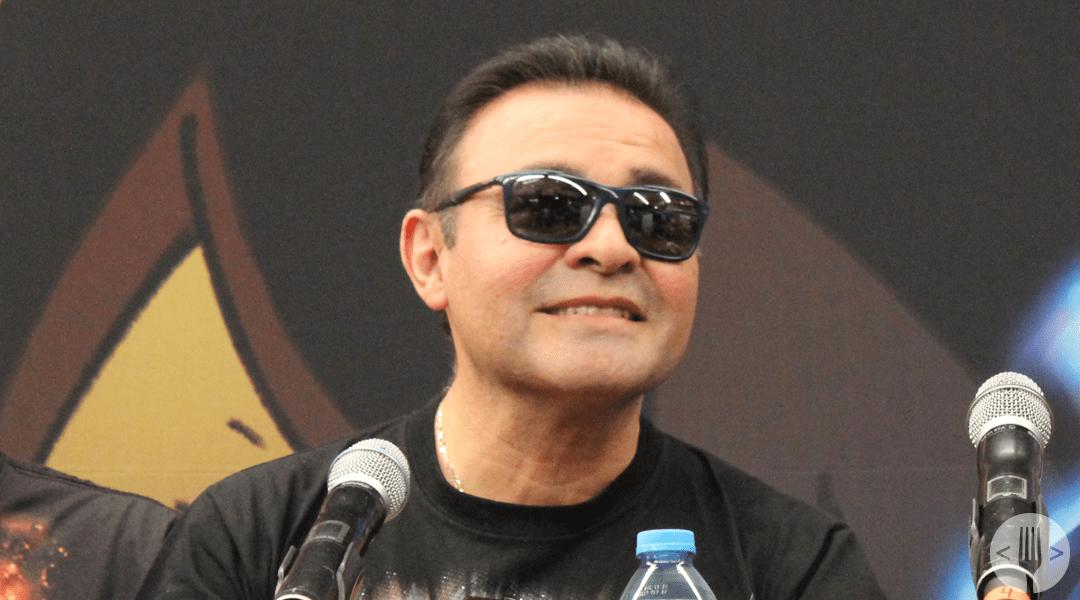 Mario Castañeda en la conferencia de Dragon Ball Super: Broly