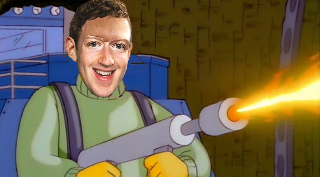 Mark Zuckerberg es el terror de las cabras