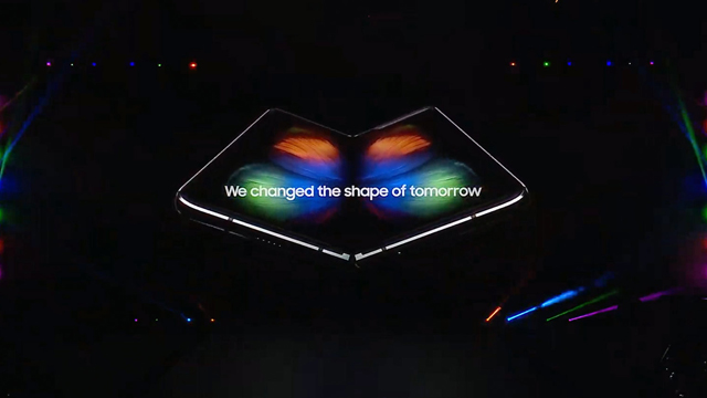 2019 Galaxy Unpacked, Galaxy Fold, Teléfono Plegable, Samsung