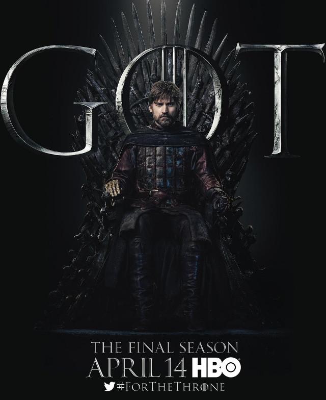 póster 8va temporada de Game of Thrones
