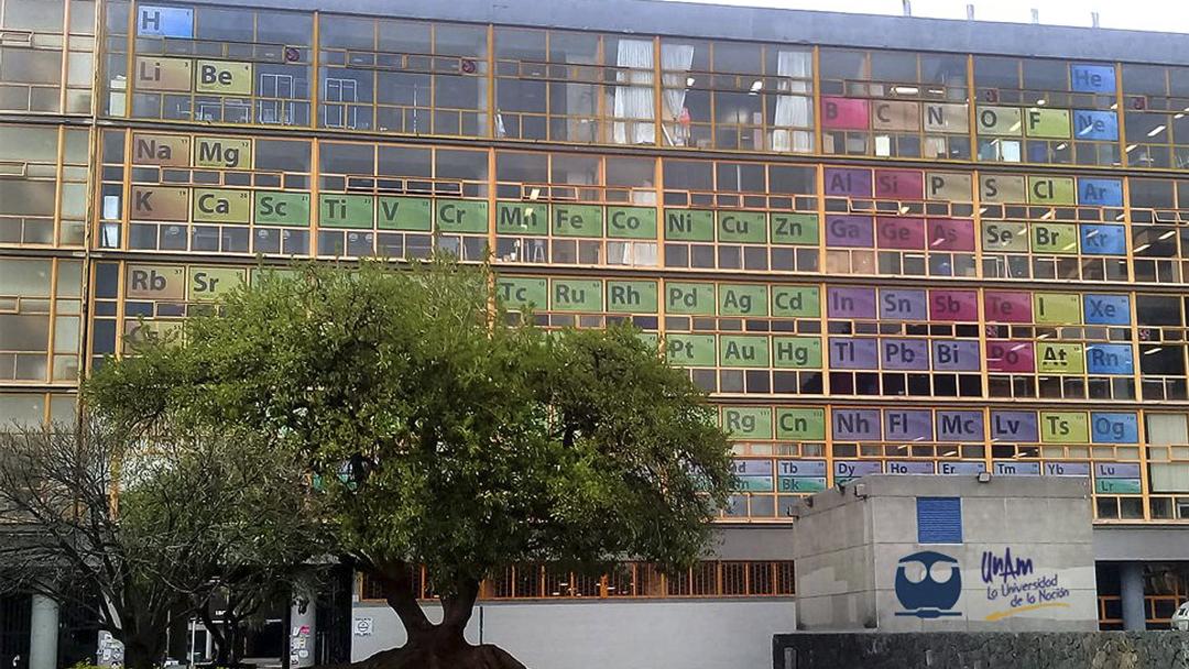 Facultad Química, Tabla Periódica, UNAM, Aniversario