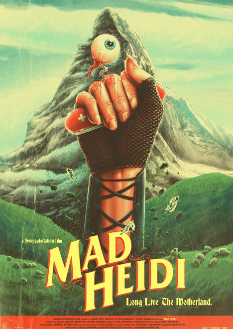 Mad Heidi, Heidi, Película, Gore