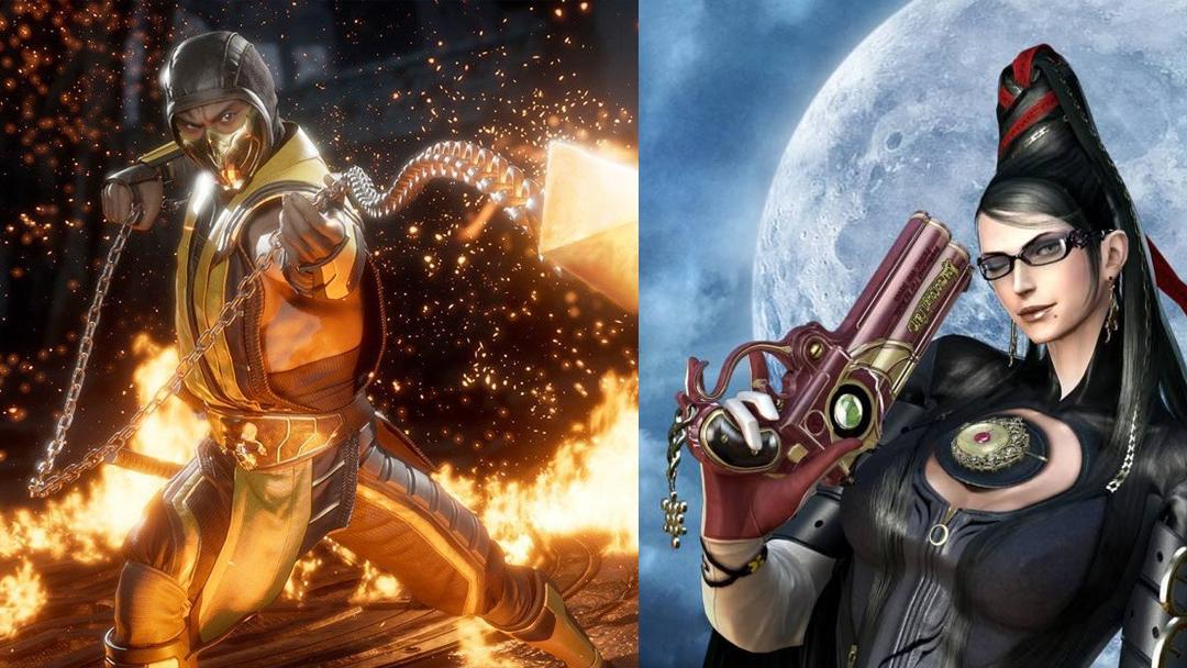 Mortal Kombat, Hideki Kamiya, Bayonetta, 11