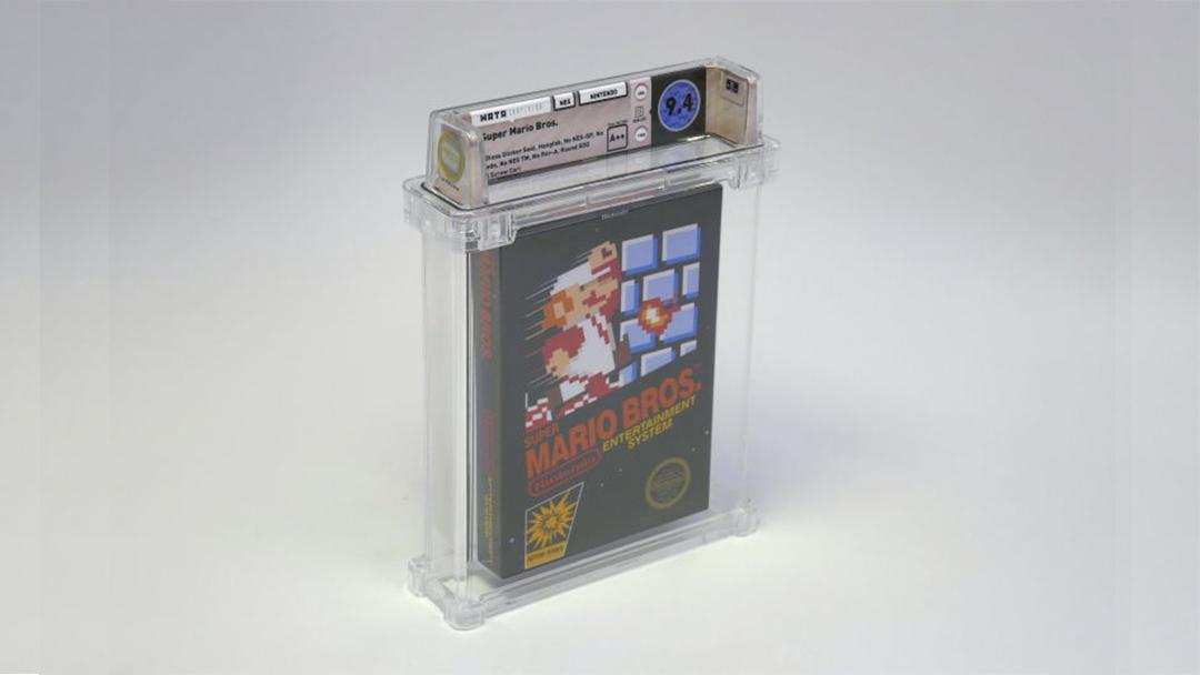 Fantastis! Kaset Game NES Super Mario Bros Laku 1,4 Miliar