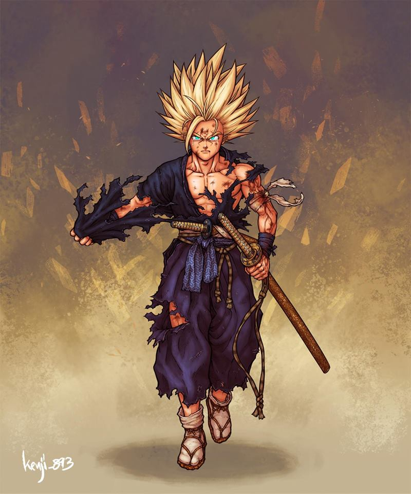 Dragon Ball, Fan Art, Goku, Super