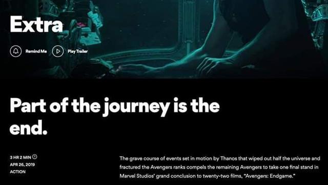 Avengers, Endgame, Duración, Estreno